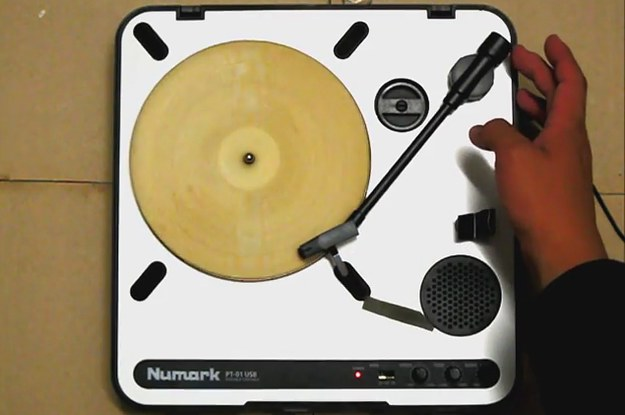 Some Genius Made A Tortilla That Plays Music On A Record