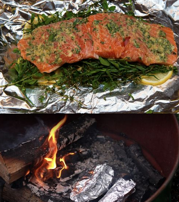10 Camping Recipes And Ideas For Cooking Around The Campfire: 21 Foil-Wrapped Camping Recipes