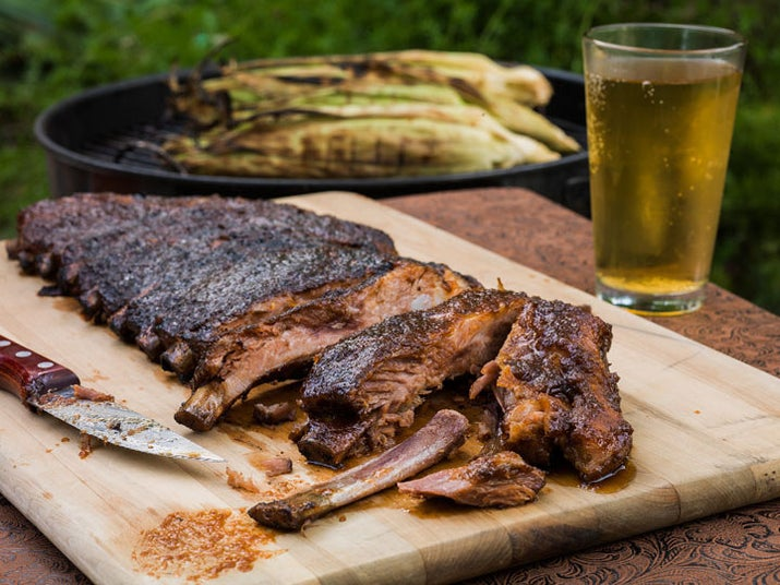 Hard cider? Put it on your ribs. Recipe here