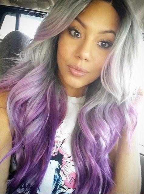 Color de cabello para una chica morena
