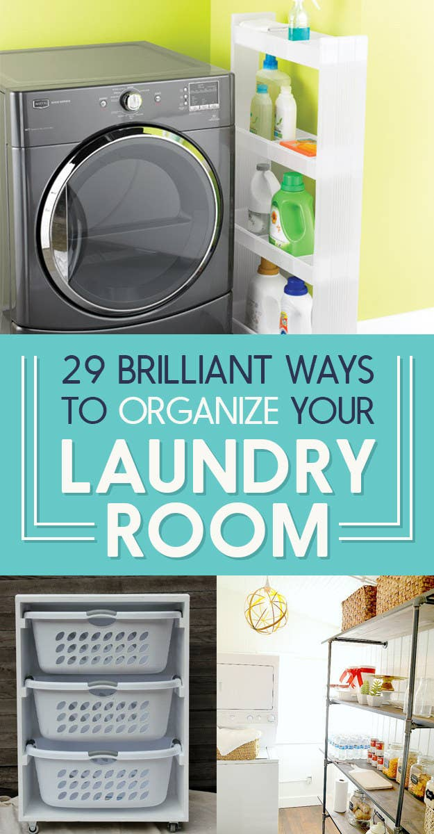 adbc82ad06 29 Incredibly Clever Laundry Room Organization Ideas