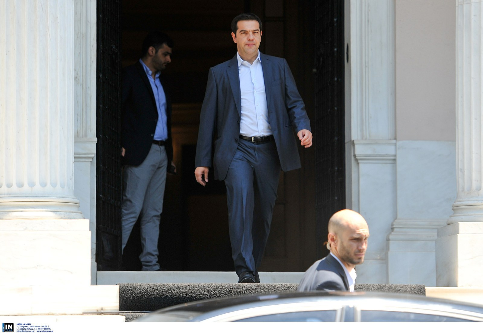 Greece Submits 11th-Hour Bailout Request To Avert Financial Collapse