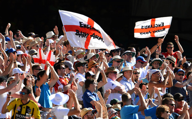 The Barmy Army (England's hardcore cricket fans)
