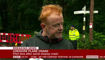 One Man Has Died In A Plane Crash At Carfest In Cheshire
