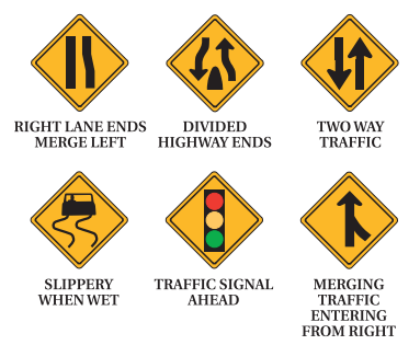 Road Signs Test - NC Driving School