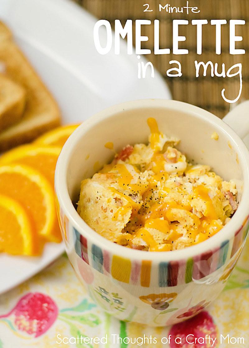 19 Breakfasts You Can Make In A Mug