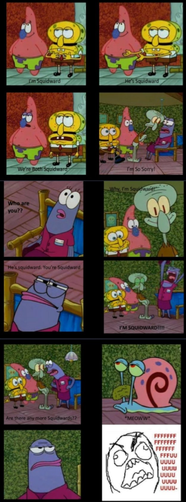 squidward funny moments images