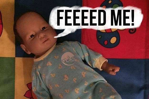 I Took Care Of A Robot Baby For Hours And Heres What Happened - 15 hilarious photos babies proving gotta go gotta go