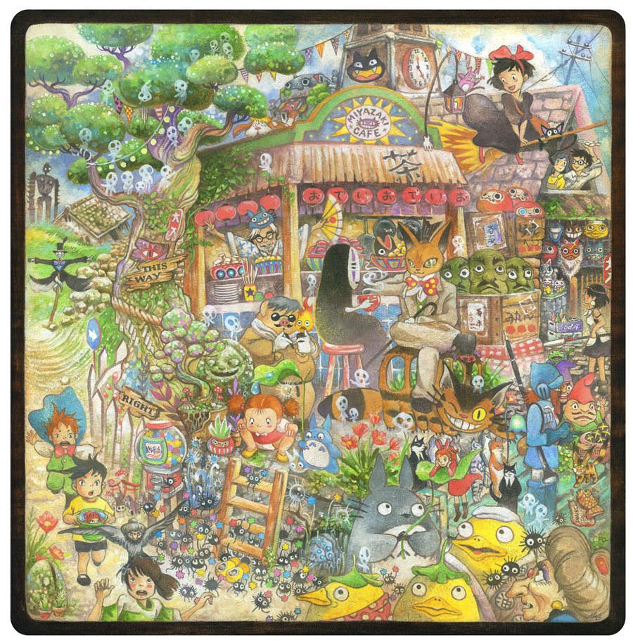 Image Gallery miyazaki characters