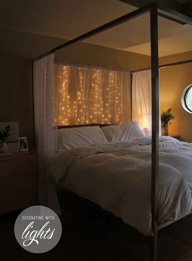 19 Super Cozy Ways To Use String Lights