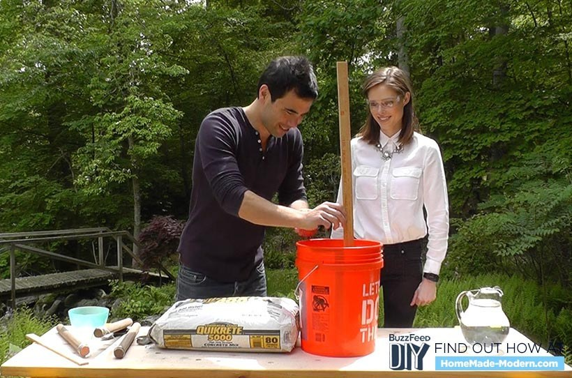 Here's How To Make A Super Classy DIY Bucket Stool
