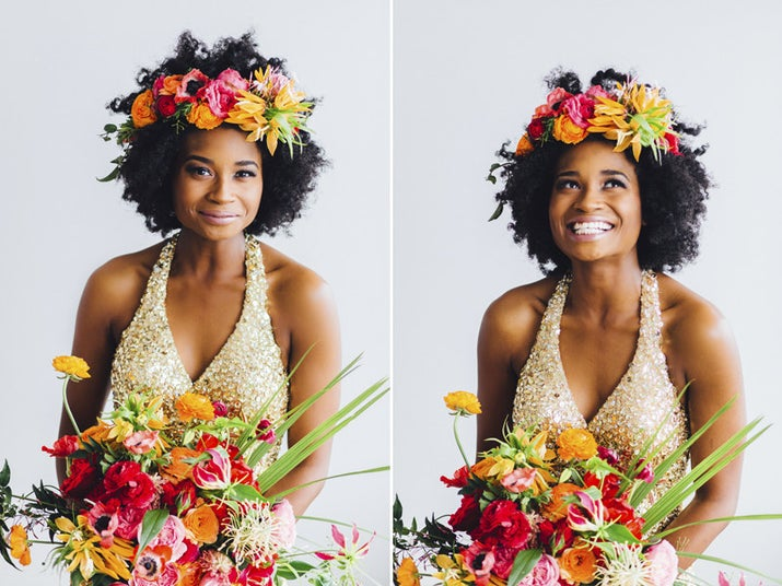 (That's actually photographer/friend of BuzzFeed Life Bri Richards at her wedding!)