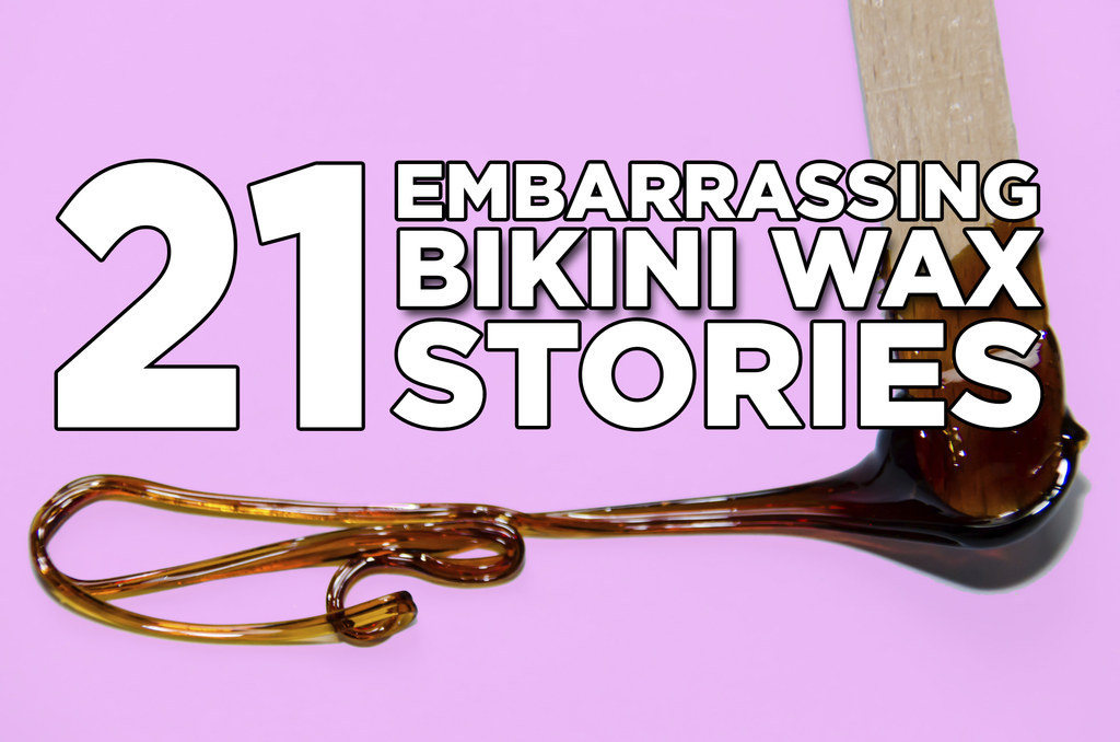 Bikini embarrassing stories