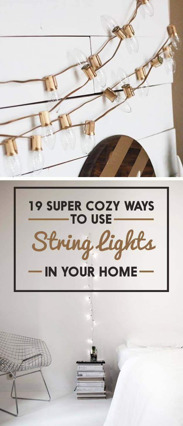 19 Super Cozy Ways To Use String Lights In Your Home Christmas Light Wiring Diagram 3 Wire Besides Share On Facebook