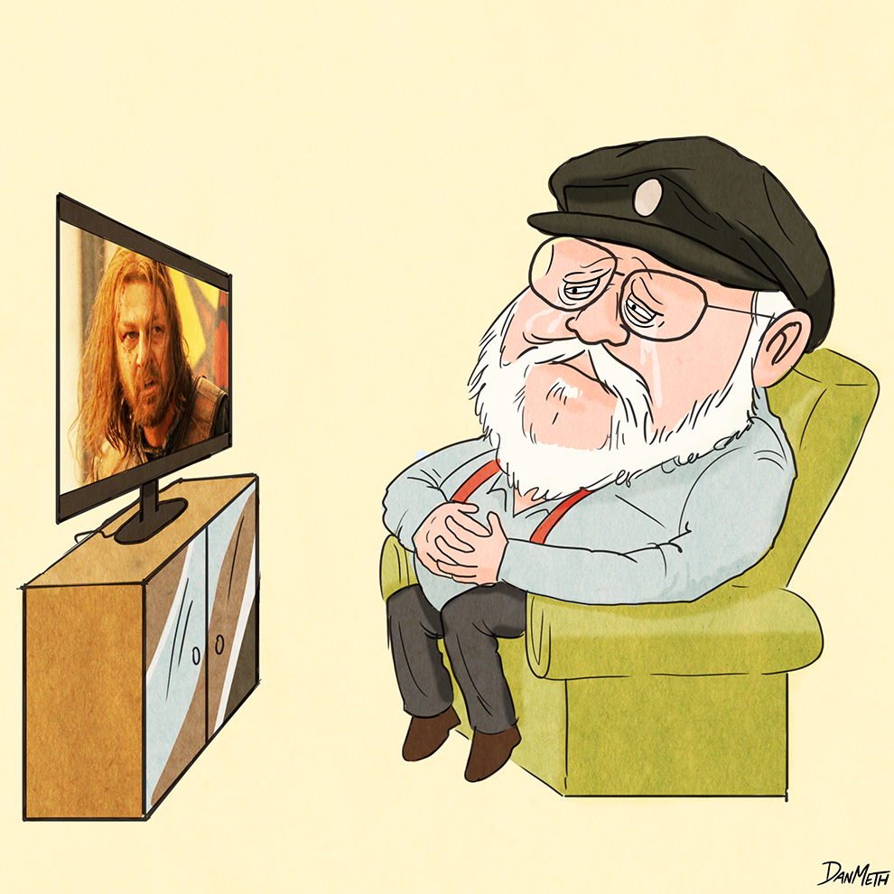 """8 Things You Didn't Know About """"Game Of Thrones"""" According To George R.R. Martin"""