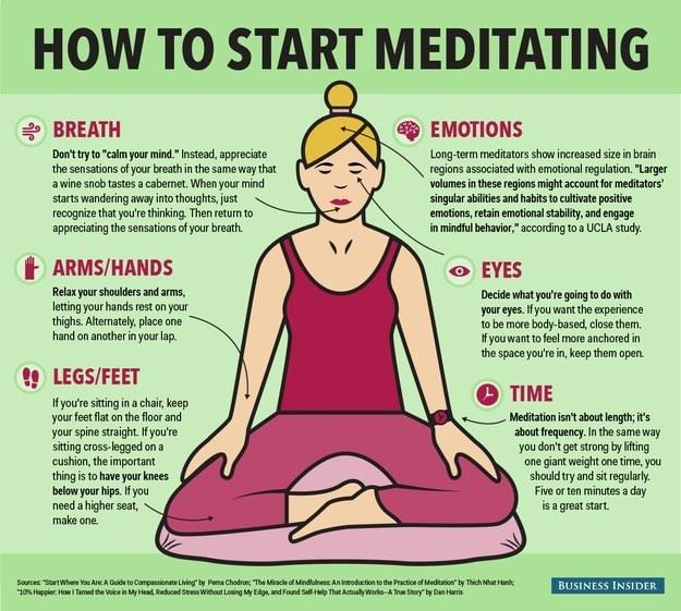 Or some basic meditation.