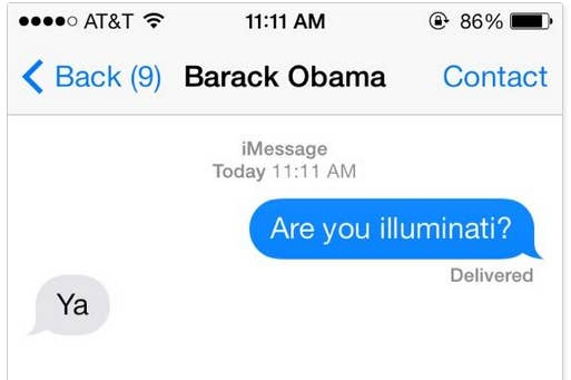 Obama's Spotify Playlist Is A Clear Sign Of The Illuminati