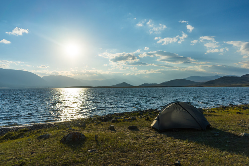 You can camp anywhere for free, but the sites are pretty lame.
