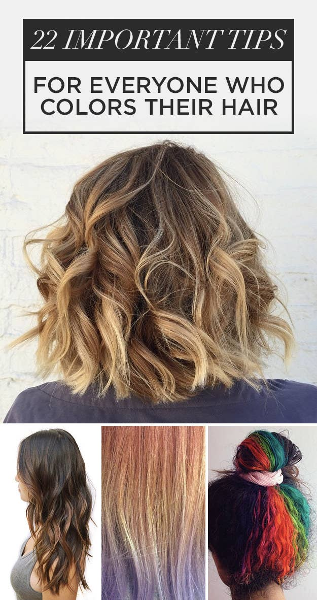 22 hair color tips no one ever told you share on facebook share solutioingenieria Gallery