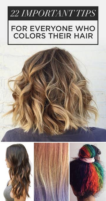 22 Hair Color Tips No One Ever Told You