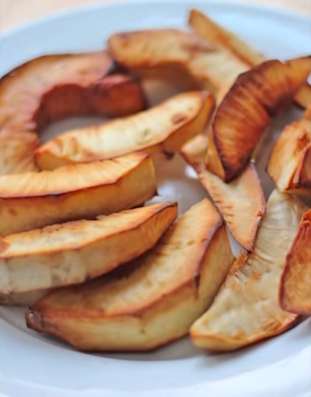 Roasted and Fried Breadfruit