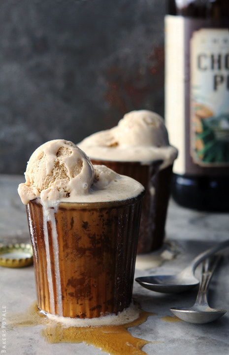 Boozy Biscoff Beer Floats