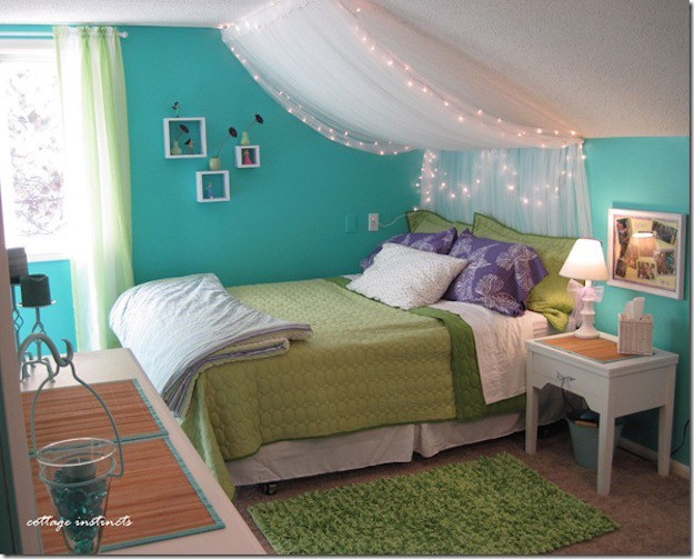 Superior Slanted Ceilings Are Perfect For Making Canopy Beds.