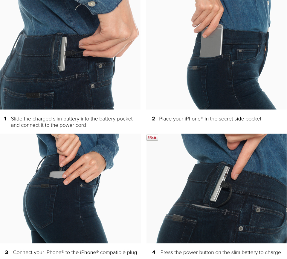 These Jeans Will Make Sure You'll Never Have An Uncharged Phone Again