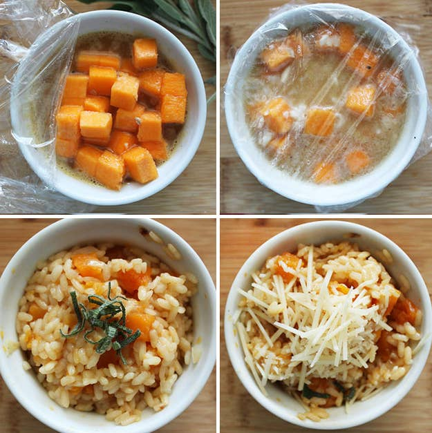 4 10 Minute Ernut Squash Risotto Cup