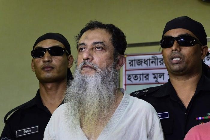 Touhidur Rahman pictured in Dhaka, Aug. 18.