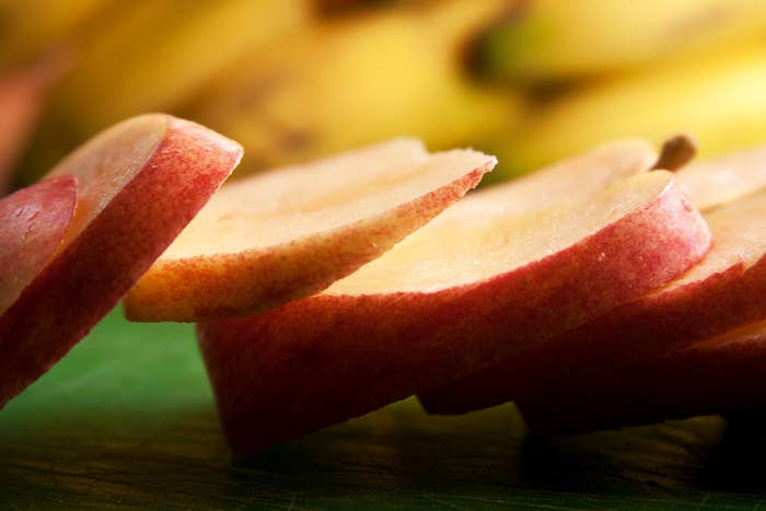 Why eat your apples whole like some sort of chump when you can slice 'em and dip 'em? Live a little!