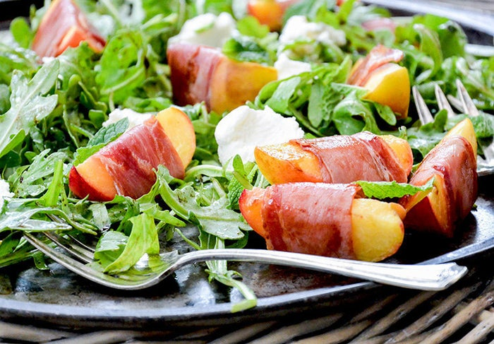 Sweet peaches, salty prosciutto, and spicy arugula — this salad is the perfect combination of flavors. Get the recipe.