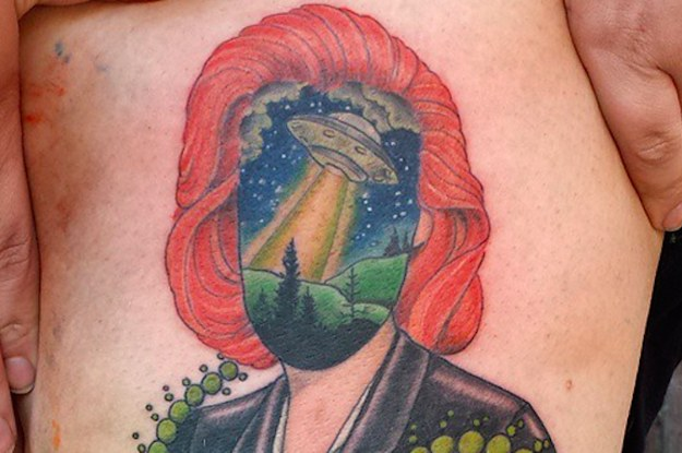 """Small X Files Tattoo: 20 """"X-Files"""" Tattoos That Will Make You Believe"""