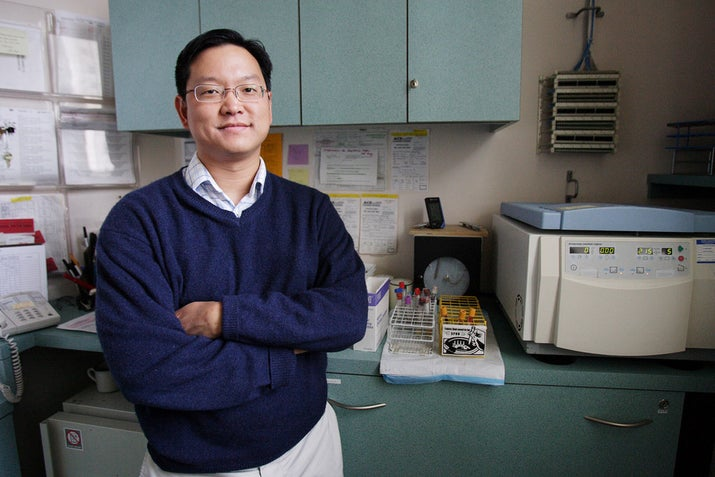El doctor Albert Liu.