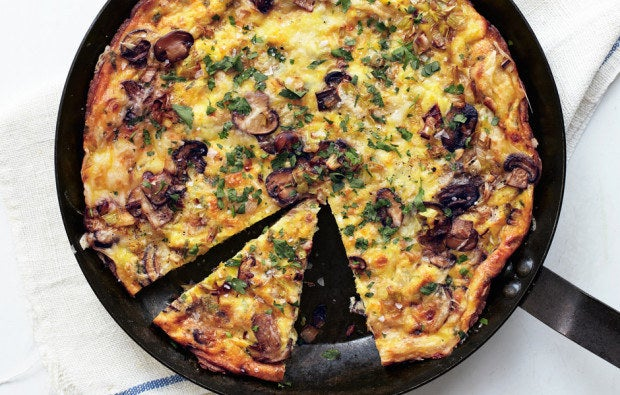 Vegetables? Yes. Meat? Yes. Cheese? Definitely, definitely yes. Once you've figured out how to make the perfect frittata base — with the right egg-dairy ratio, in the right kind of pan, at exactly the right temperature — the sky's the limit. And, don't be silly enough to think that these are just for breakfast.Here's how to make the perfect frittata.