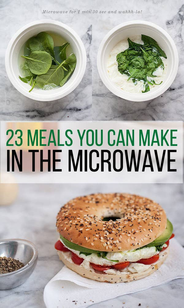 23 dorm room meals you can make in a microwave share on facebook share forumfinder Images
