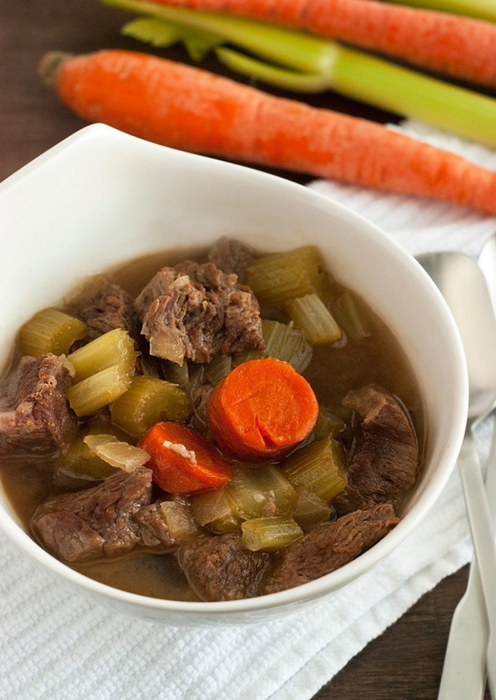 This beef stew is full of vegetables and no one will even notice that it's low-carb (and low-effort). Recipe: Low-Carb Beef Stew