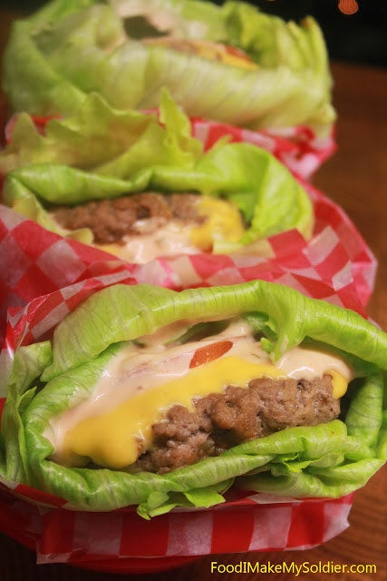 Use high-quality beef, season properly, and don't skimp on toppings like cheese and mayo.Recipe: Lettuce-Wrapped Cheeseburgers