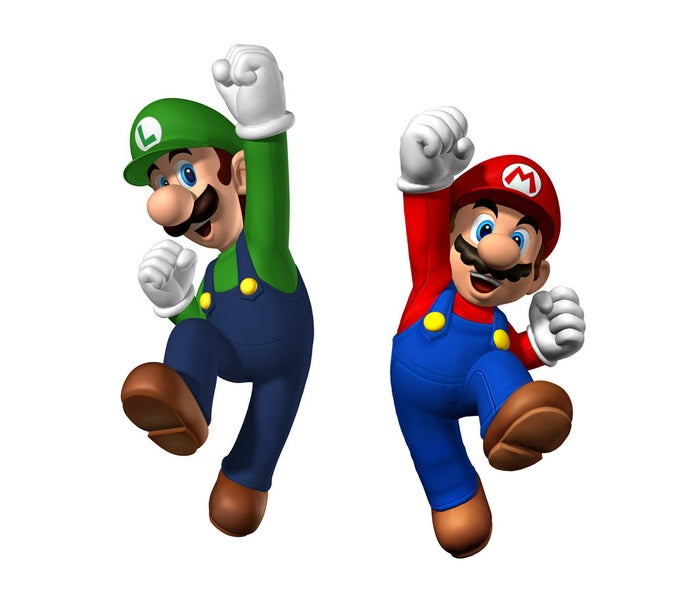 Mario and Luigi are Nintendo's most famous characters. These two Italian plumber brothers are mostly known for running around The Mushroom Kingdom collecting power-ups that infuse them with superpowers and saving Princess Peach from the evil Bowser.