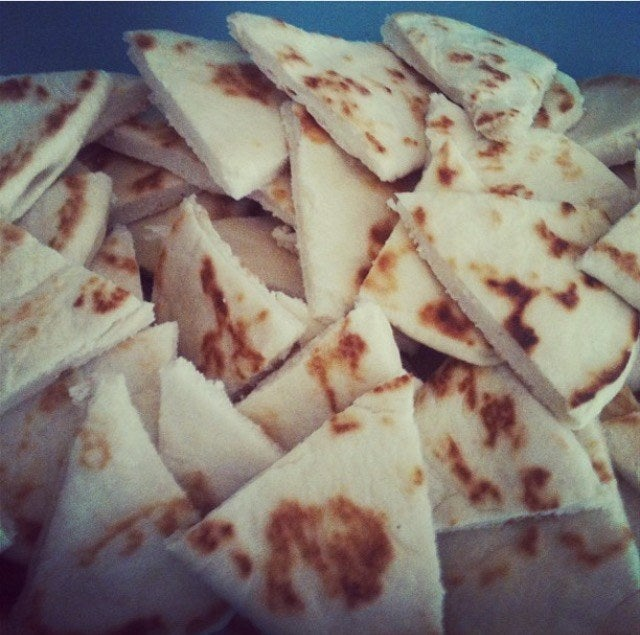 Titiyas is similar to tortillas. Usually paired with kelaguen. Titiyas can be made from corn flour or all purpose flour--my personal favorite is a variation of flour titiyas made with månha! Young coconut juice, young coconut meat, and coconut milk incorporated with the dough.