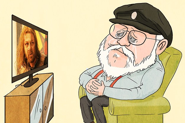"8 Things You Didn't Know About ""Game Of Thrones"" According To George R.R. Martin"