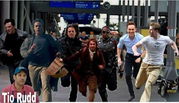 Captain America Running Meme