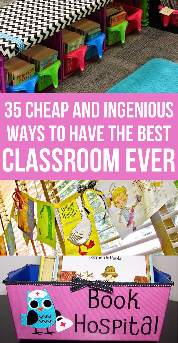 35 cheap and ingenious ways to have the best classroom ever - Classroom Design Ideas