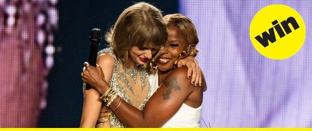 We were all wondering who Taylor Swift would welcome to the stage next, and she certainly didn't disappoint. For her first batch of LA shows, Taylor had stars Kobe Bryant, Mary J. Blige, and Matt LeBlanc surprise the audience. Oh, and Uzo Aduba, Sean O'Pry, and Chris Rock too.