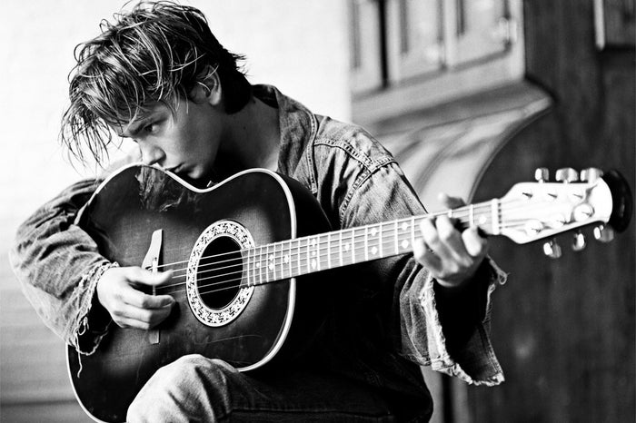 """""""Music is a whole oasis in my head. The creation process is so personal and fulfilling."""" -River Phoenix"""