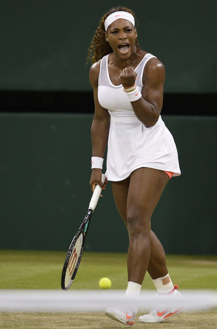 As you may recall, Williams is in New York City, gearing up for the U.S. Open. If she wins the tournament, this will be her first calendar Grand Slam.