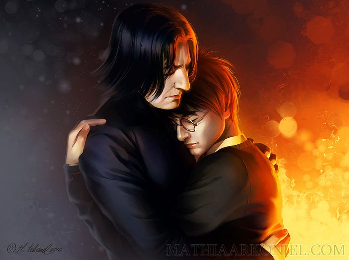 Y al parecer muchos fans de Harry Potter se han dado a la tarea de emparejar al protagonista de la saga con su maestro, Severus Snape.
