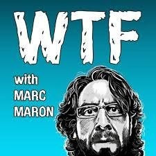 WTF is irreverent, funny, and surprisingly deep. I know, I was pleasantly surprised too. Maron does an excellent job of getting his guests to open up and talk in a way you haven't heard before. I'd highly recommend his interview with President Obama, and the episode with Jason Segel is also quite good.