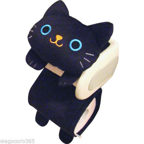 Buy a cute toilet paper cover to keep your cat from unraveling it.