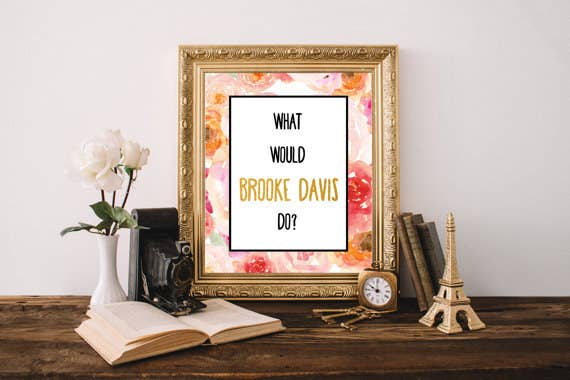 19 things all one tree hill fans seriously need 3 brooke davis print publicscrutiny Choice Image